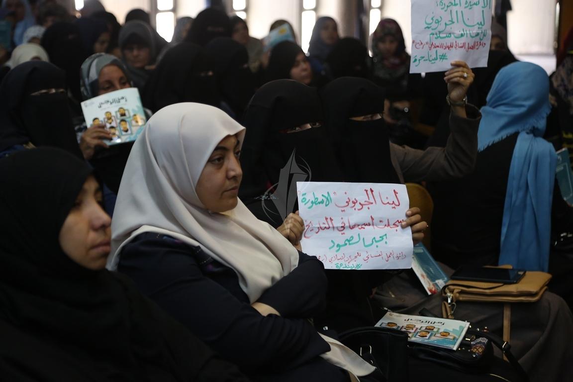 مهرجان تكريمى للمحررة  لينا الجربونى بغزة (17)