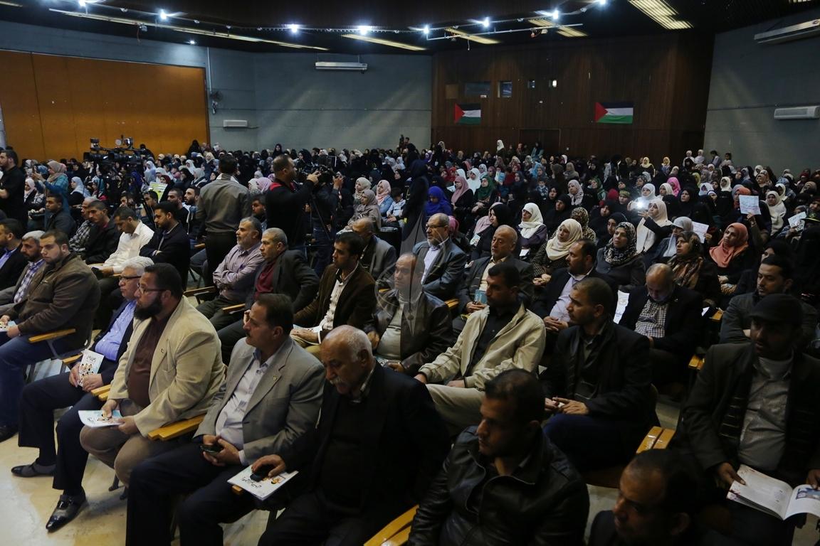 مهرجان تكريمى للمحررة  لينا الجربونى بغزة (25)