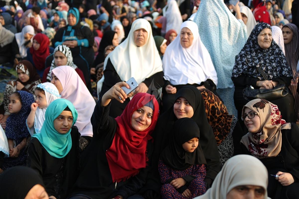 صلاة العيد وسط مدينة غزة (31174551) 