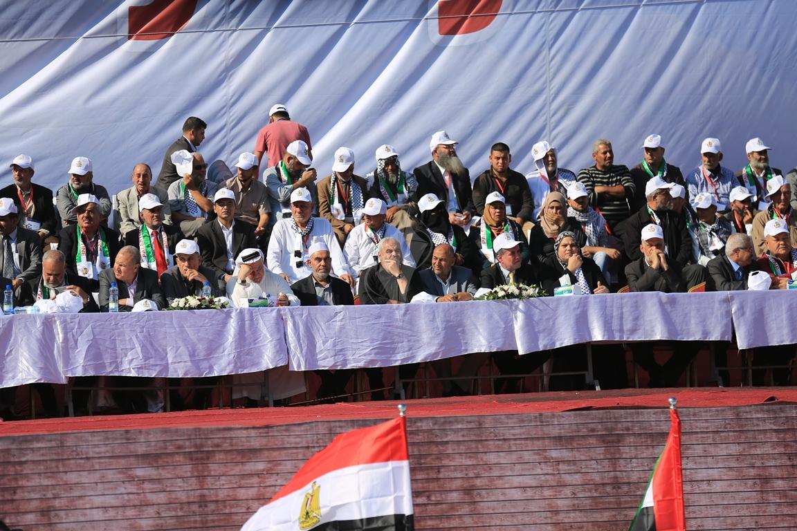 مهرجان احياء الذكرى الـ13 لاستشهاد الرئيس ياسر عرفات في ساحة الكتيبة غرب مدينة غزة (37683725) 