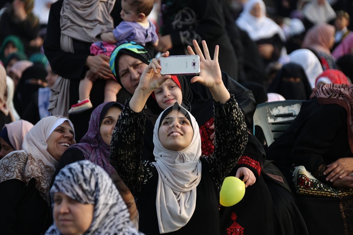 صلاة العيد وسط مدينة غزة (31174552) 