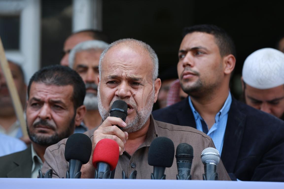 قفة في مدينة غزة احتفاء بالعملية البطولية بالقدس  (39780876) 