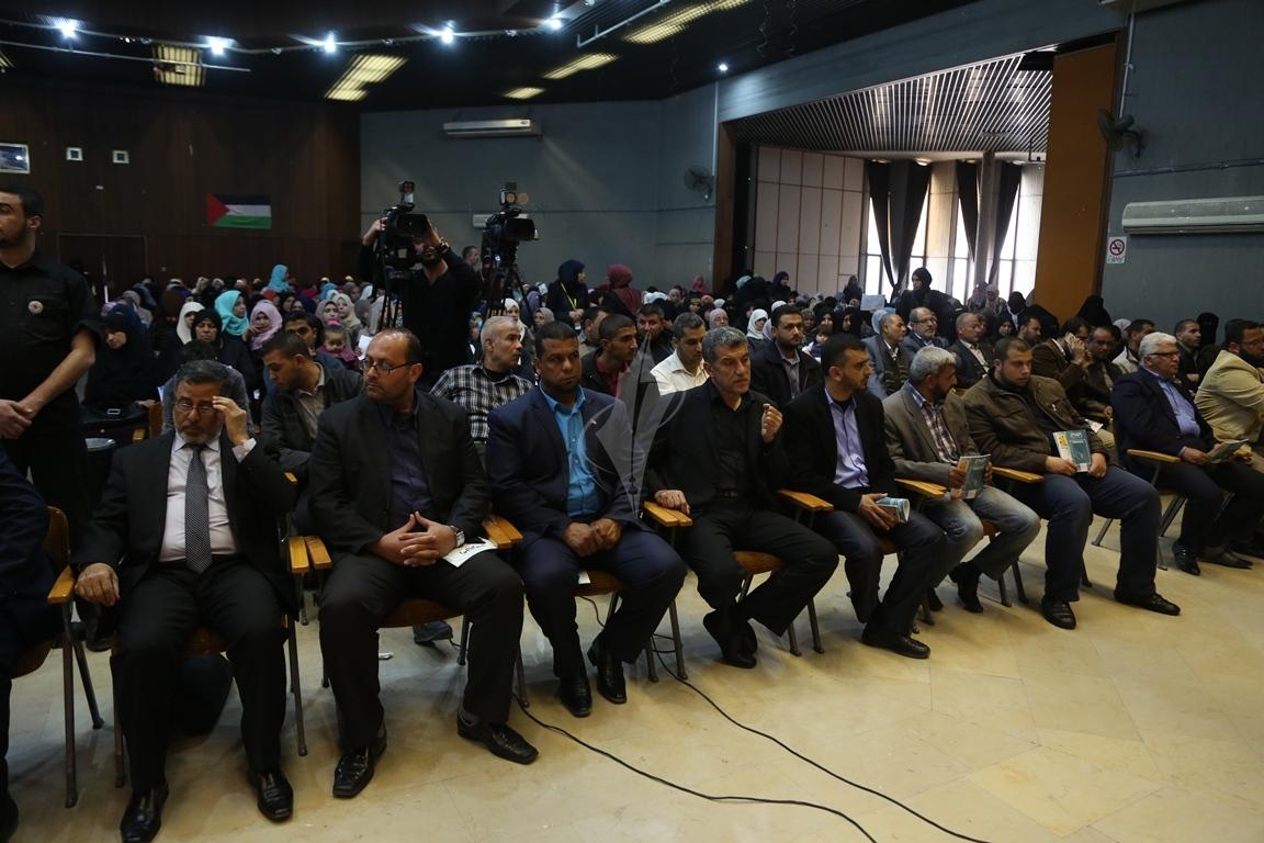 مهرجان تكريمى للمحررة  لينا الجربونى بغزة (9)