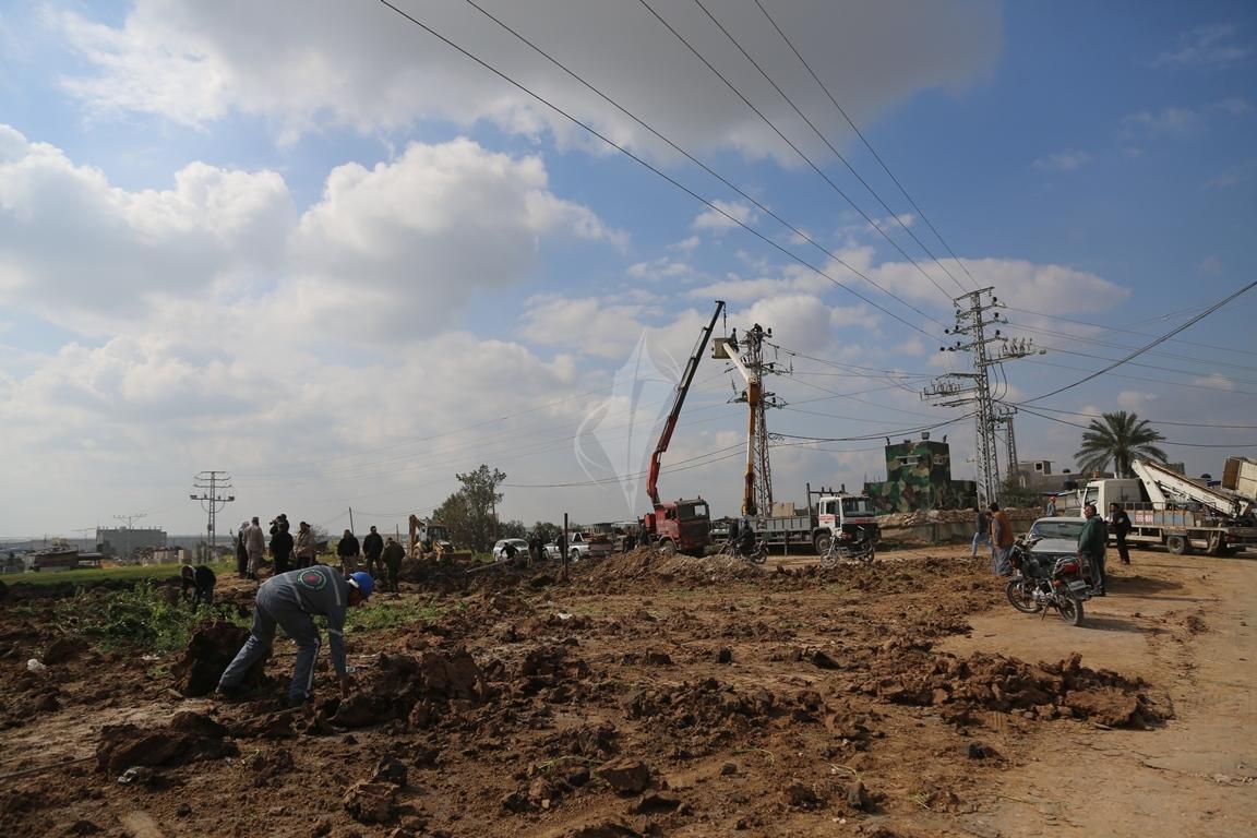 قصف شرق غزة (38076937) 