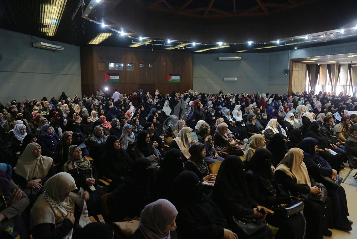 مهرجان تكريمى للمحررة  لينا الجربونى بغزة (31)
