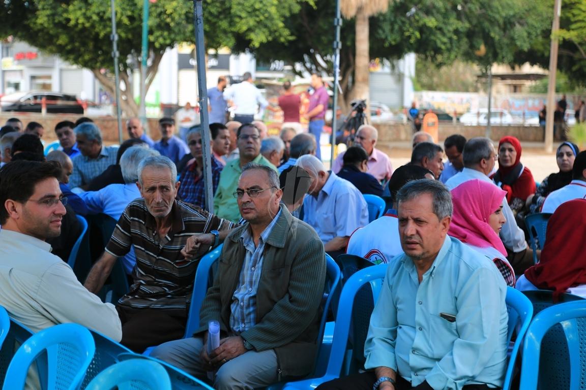 وقفات في غزة لدعم جلسات المصالحة الفلسطينية وإنهاء الانقسام التي تجري في القاهرة (39191041) 