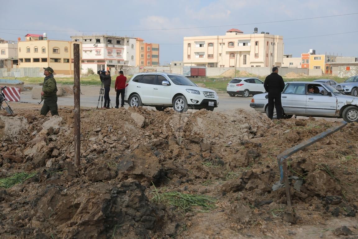 قصف شرق غزة (38076930) 