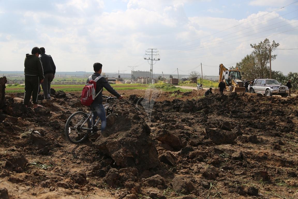 قصف شرق غزة (38076934) 