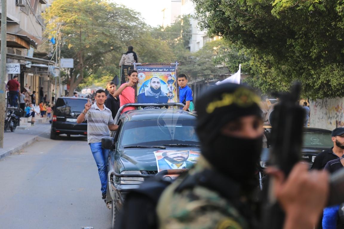 سرايا القدس لواء غزة مسير (1) 
