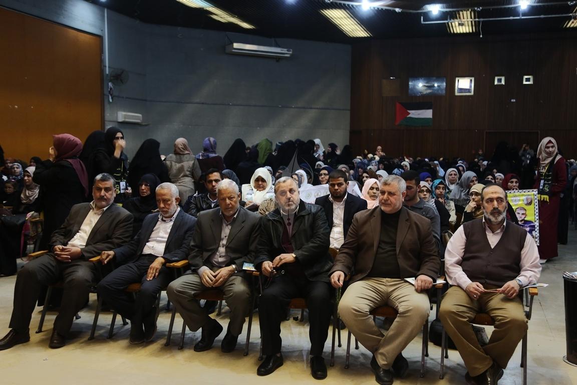 مهرجان تكريمى للمحررة  لينا الجربونى بغزة (12)