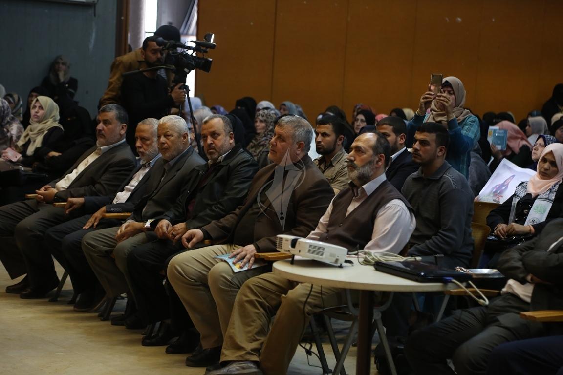 مهرجان تكريمى للمحررة  لينا الجربونى بغزة (24)