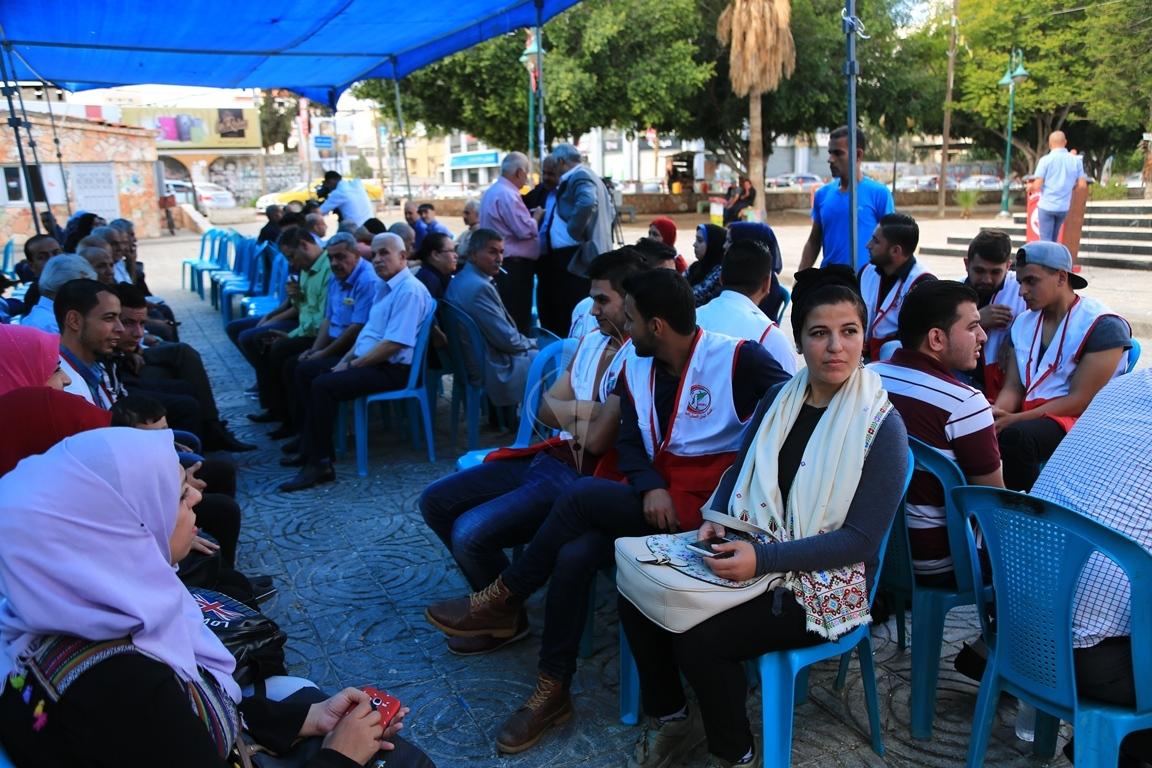 وقفات في غزة لدعم جلسات المصالحة الفلسطينية وإنهاء الانقسام التي تجري في القاهرة (1) 