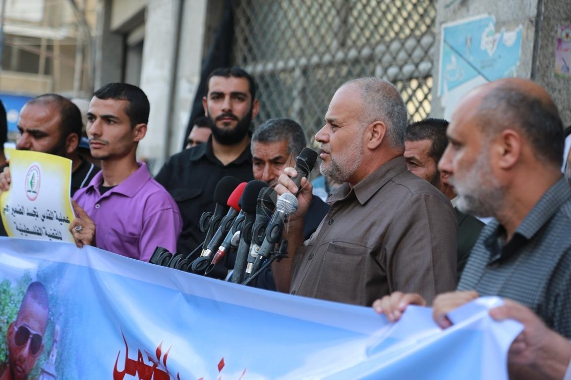 قفة في مدينة غزة احتفاء بالعملية البطولية بالقدس  (39780871) 