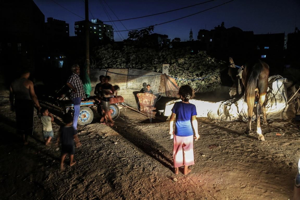جورة الصفطاوي  ظل استمرار أزمة الكهرباء (1)