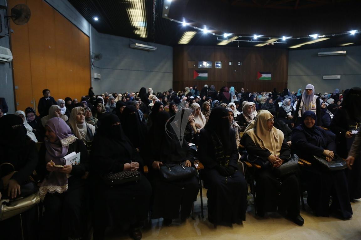 مهرجان تكريمى للمحررة  لينا الجربونى بغزة (7)