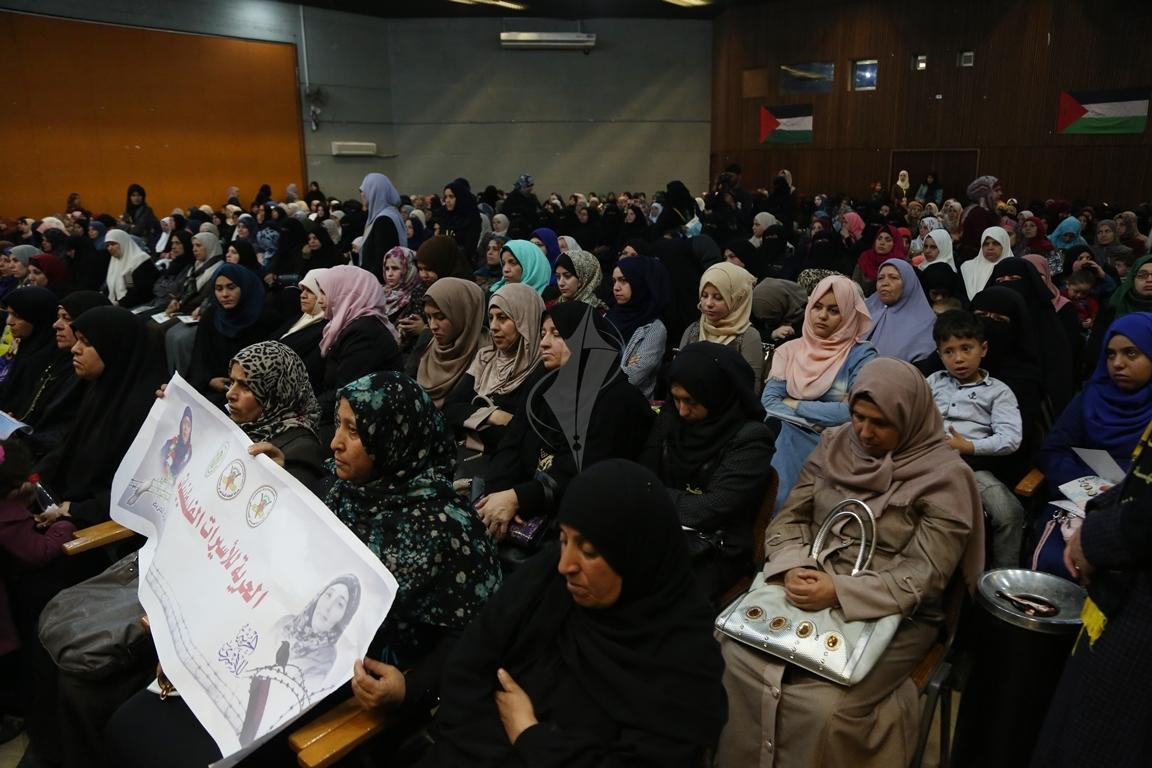 مهرجان تكريمى للمحررة  لينا الجربونى بغزة (22)