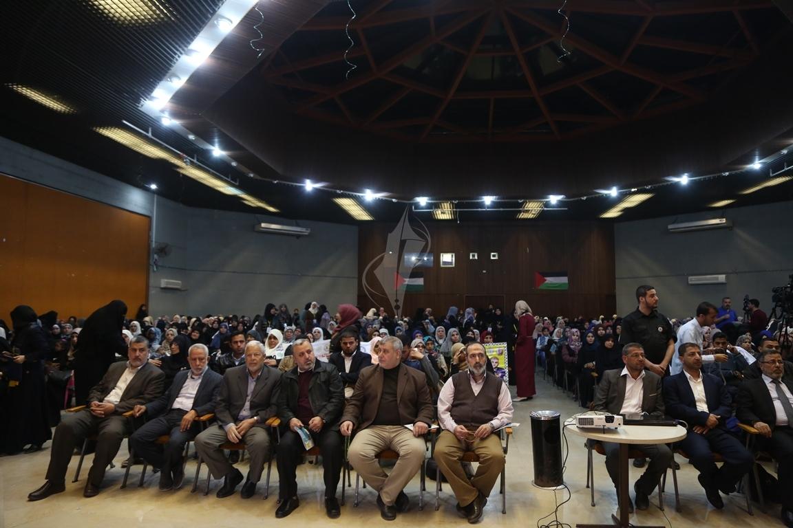 مهرجان تكريمى للمحررة  لينا الجربونى بغزة (10)