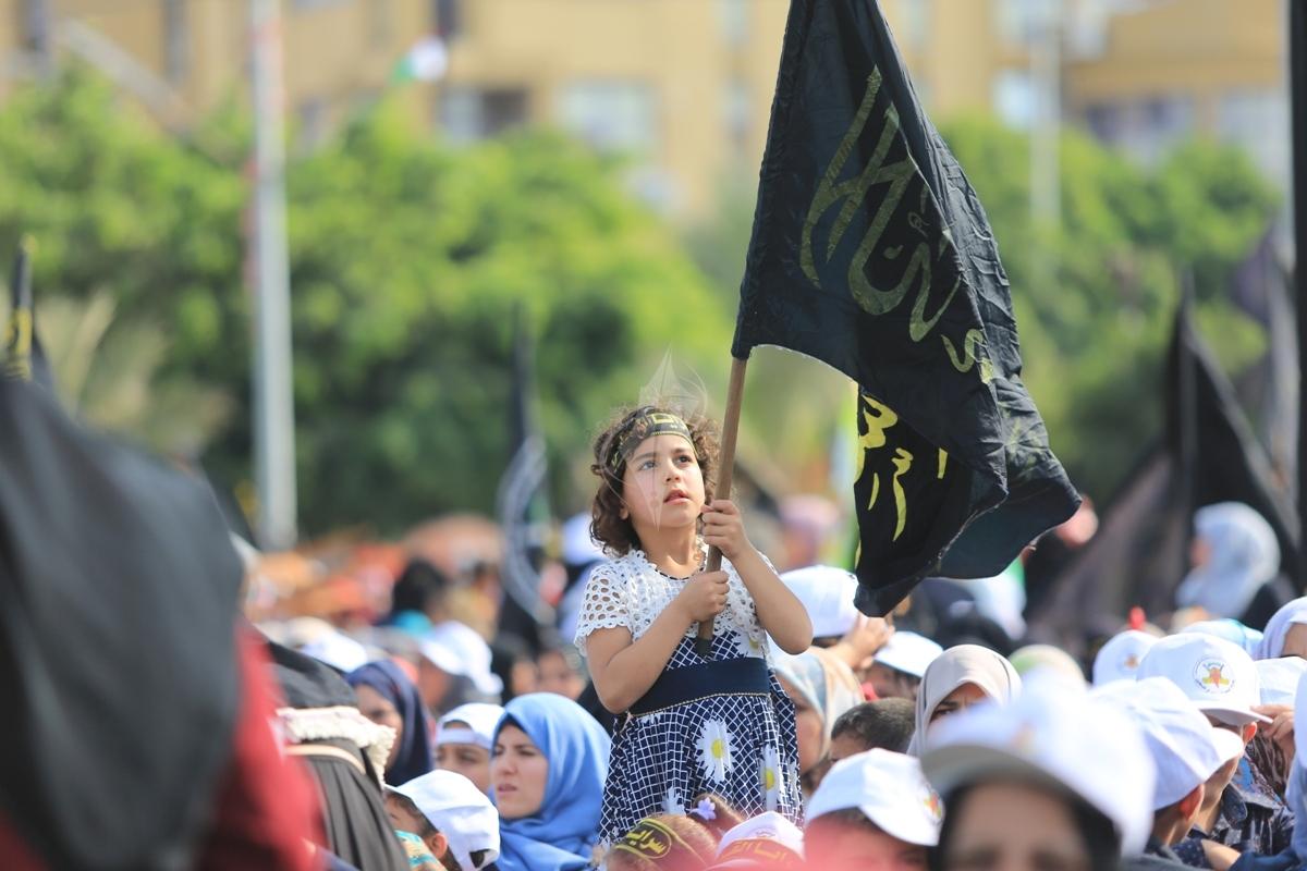 أشبال وزهرات سرايا القدس الانطلاقة الجهادية (29681040) 