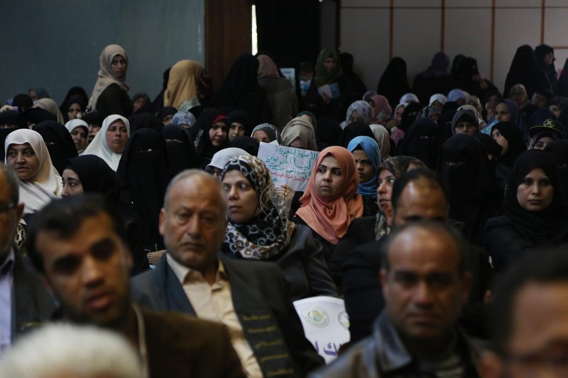 مهرجان تكريمى للمحررة  لينا الجربونى بغزة (15)