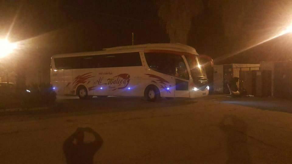 مصادرة حافلة فلسطينية