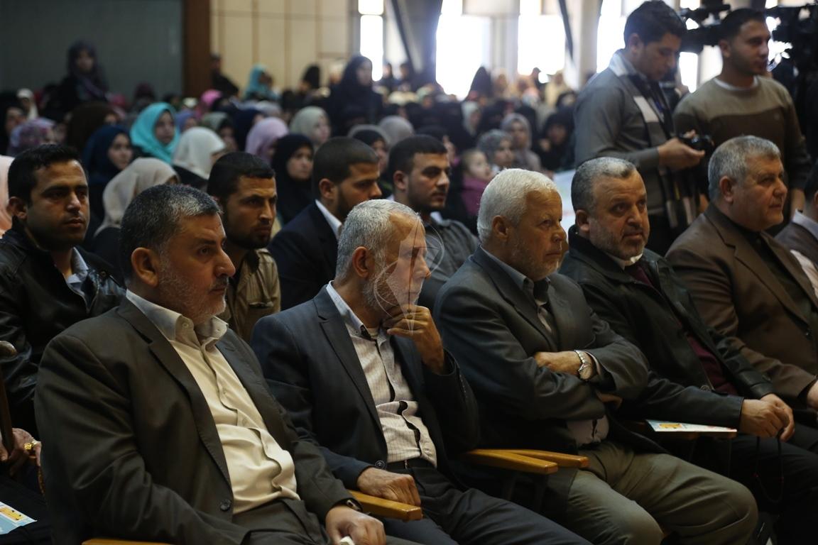 مهرجان تكريمى للمحررة  لينا الجربونى بغزة (30)