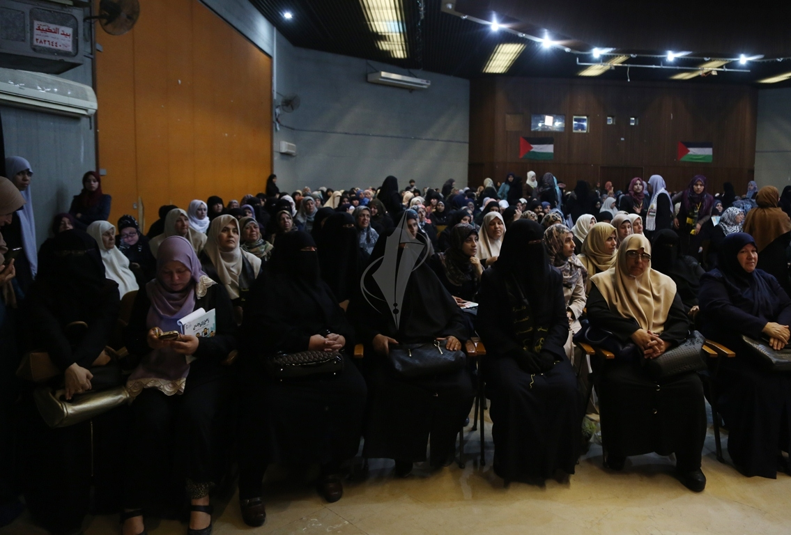 مهرجان تكريمى للمحررة  لينا الجربونى بغزة (6)