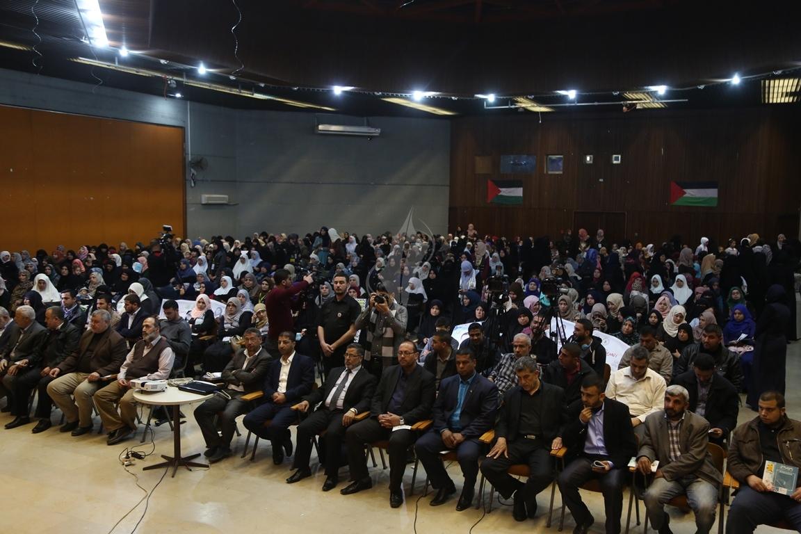 مهرجان تكريمى للمحررة  لينا الجربونى بغزة (14)