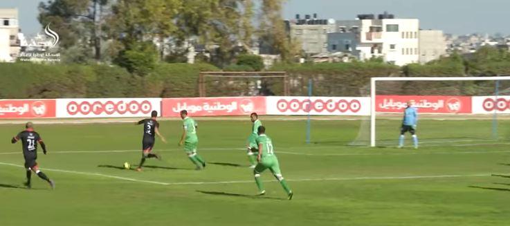 ملخص أهداف مباراة غزة الرياضي والشجاعية