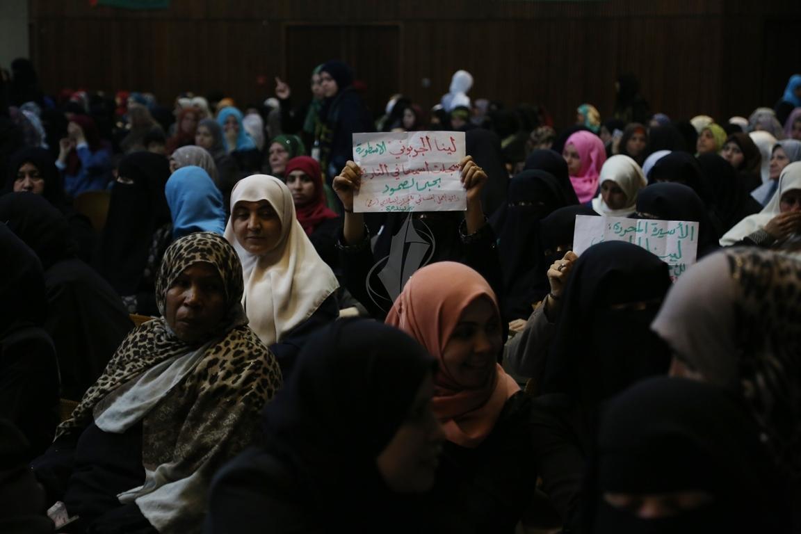 مهرجان تكريمى للمحررة  لينا الجربونى بغزة (4)
