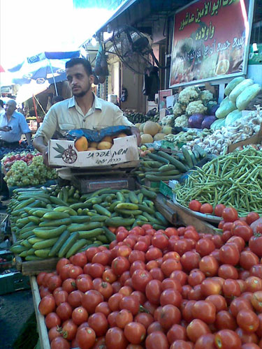 سوق وخضروات