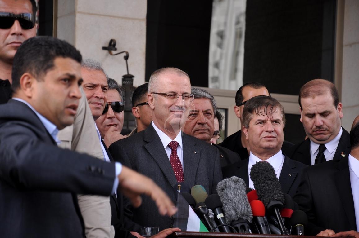 رئيس الوزراء رامى الحمدالله بغزة (271793307) 