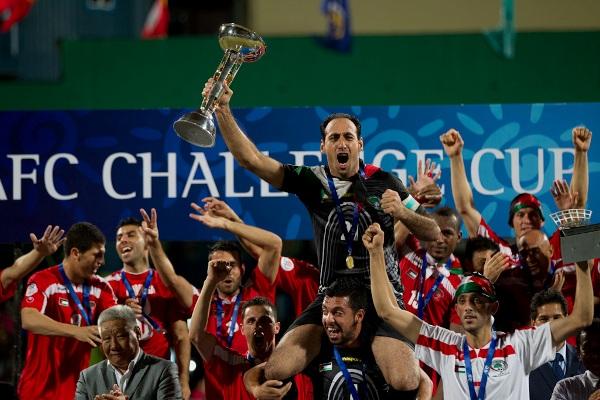 فلسطين بطلة كأس التحدي الأسيوية