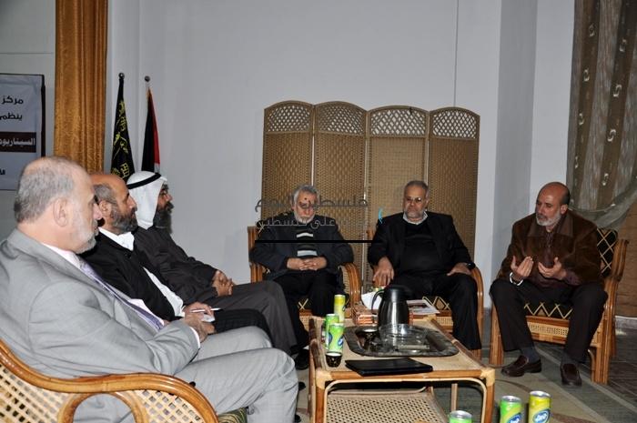 الجهاد تستقبل هيئة علماء فلسطين بالخارج