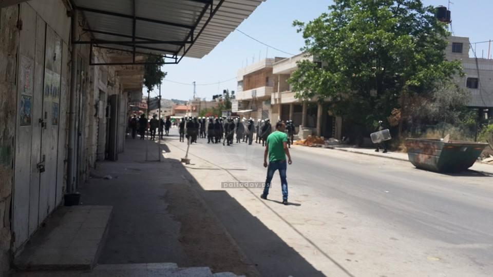 مسيرات حاشدة في جنين دعما للأسرى المضربين عن الطعام في سجون الاحتلال