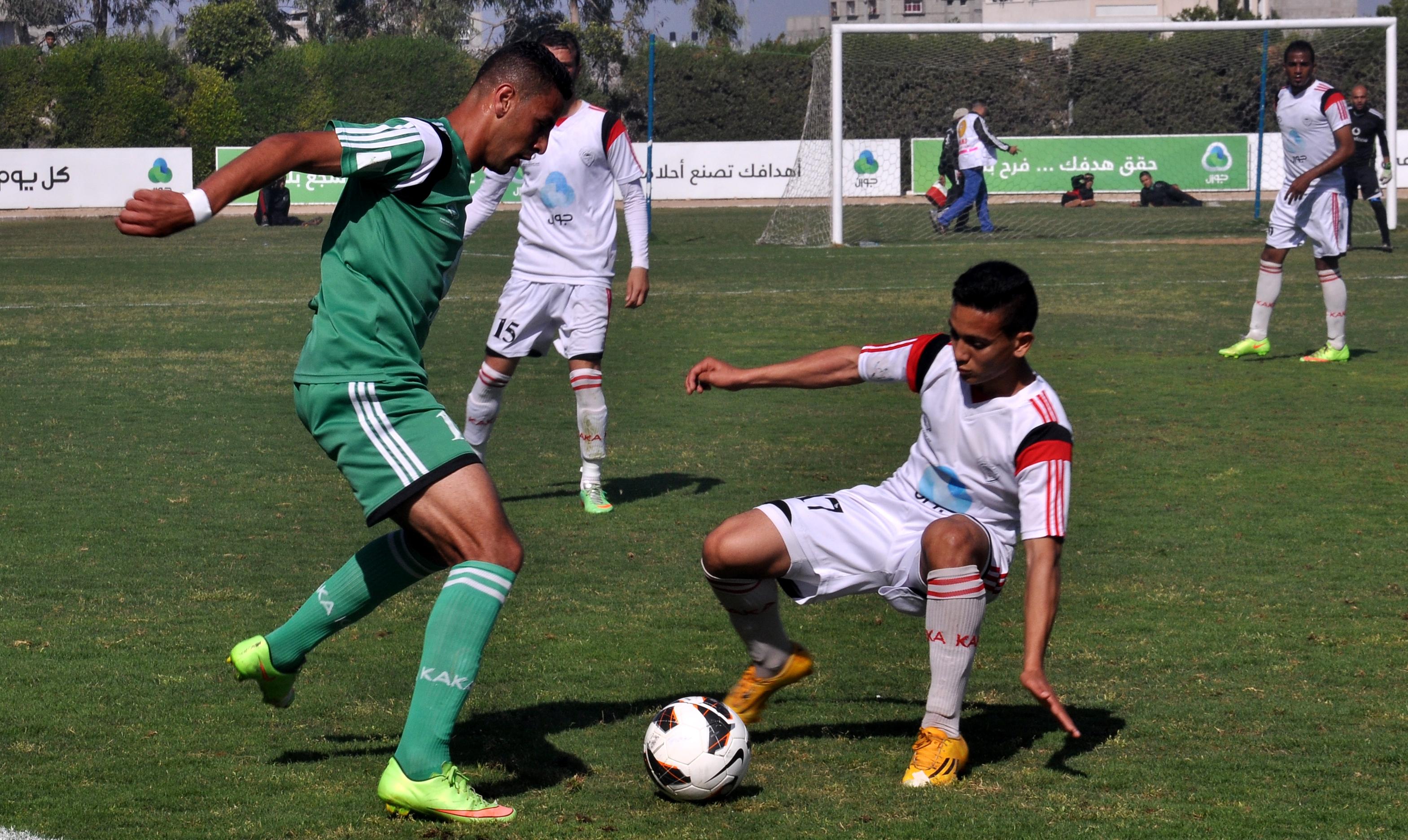 اتحاد الشجاعية وغزة الرياضي (1)