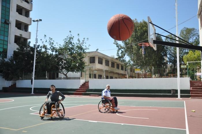 كرة سلة للمعاقين