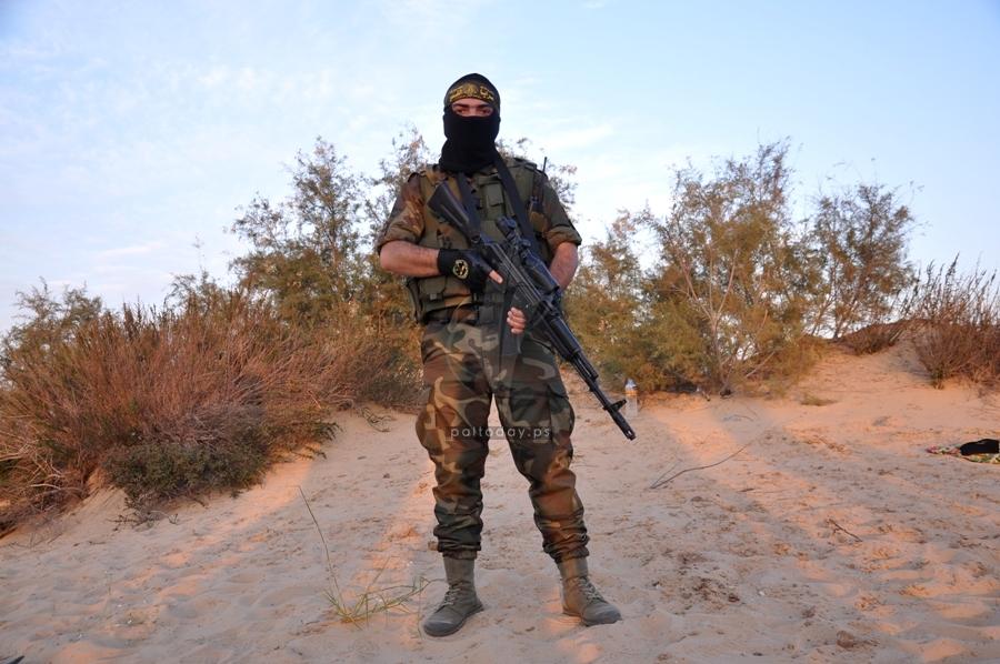 مناورة عسكرية لسرايا القدس