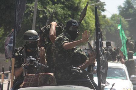 العرض العسكري لكتائب القسام المقاومة 12827130d290095095b0