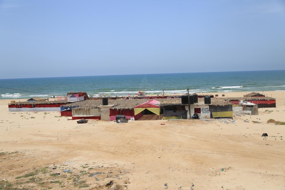 استراحات غزة