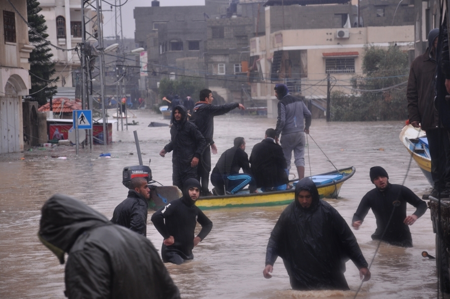 بالصور:عدسة وكالة فلسطين اليوم ترصد الكارثة الإنسانية بمدينة غزة