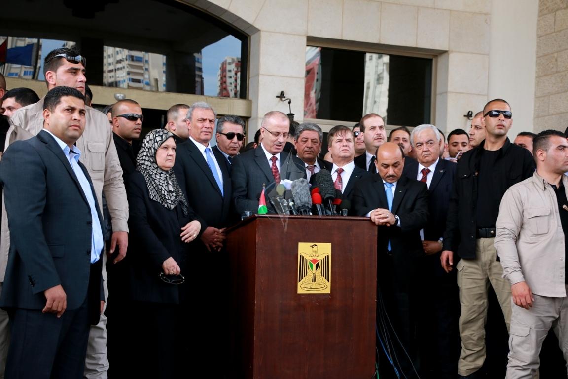 رئيس الوزراء رامى الحمدالله بغزة (271793303) 