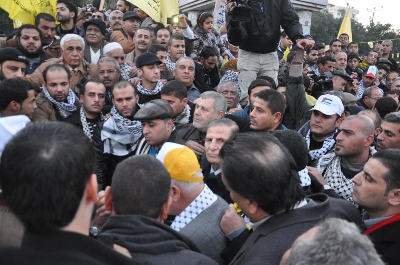شعلة حركة فتح بغزة