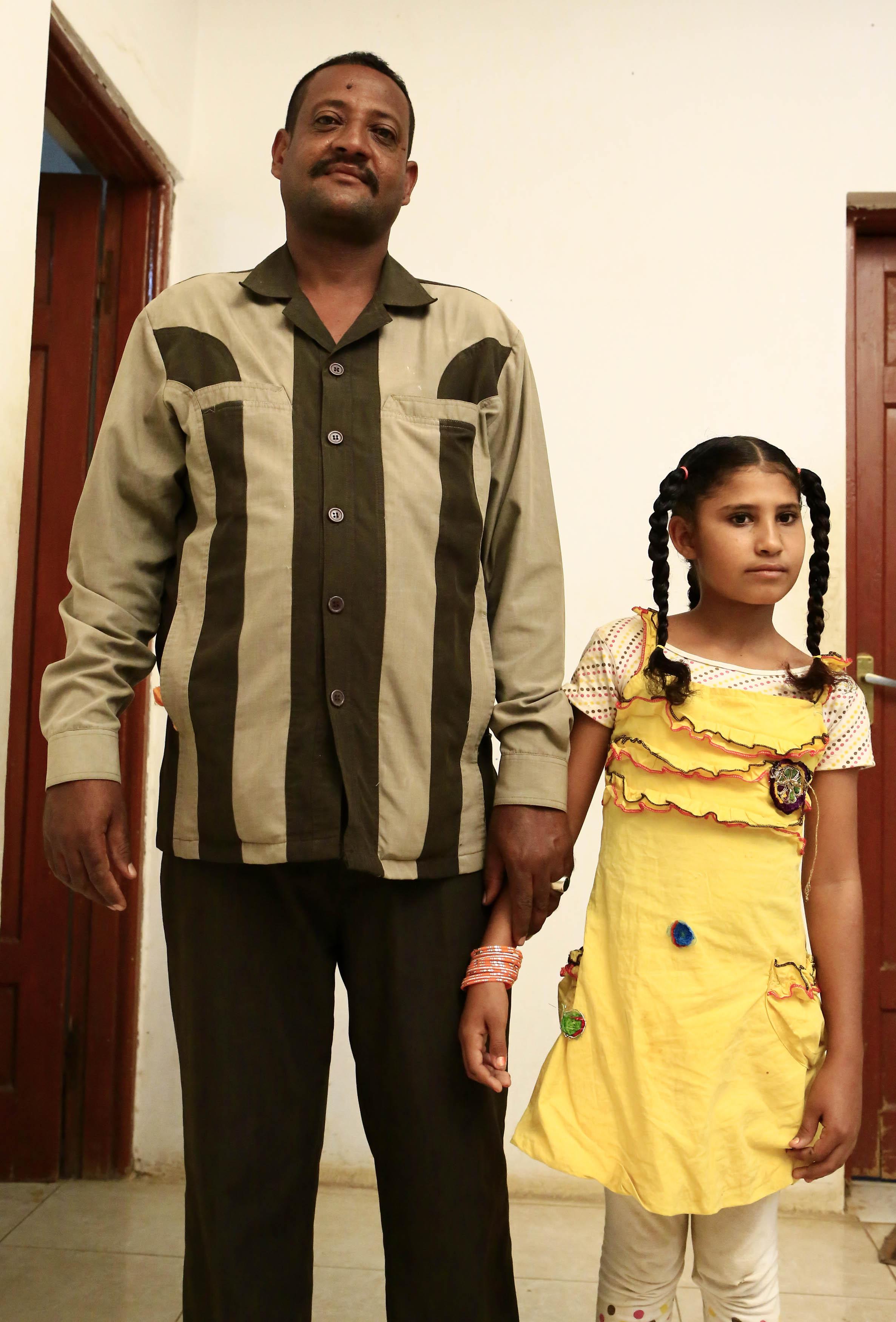 طفلة سودانية متزوجة