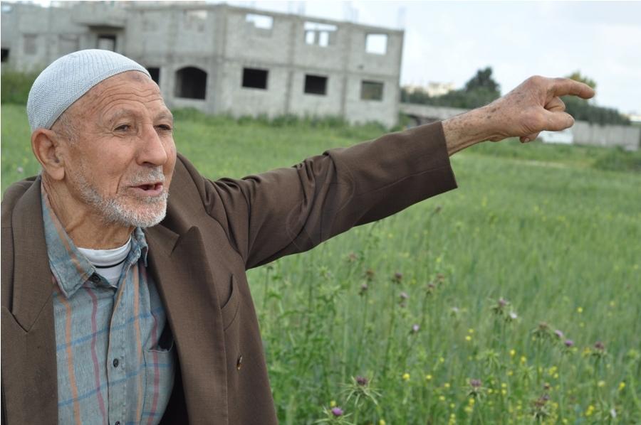بالصور:الفصائل تحيي ذكرى يوم الأرض قبالة معبر بيت حانون
