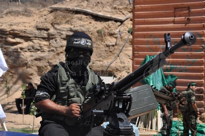 العرض العسكري لكتائب القسام المقاومة 1e730f5ea65c0c991258