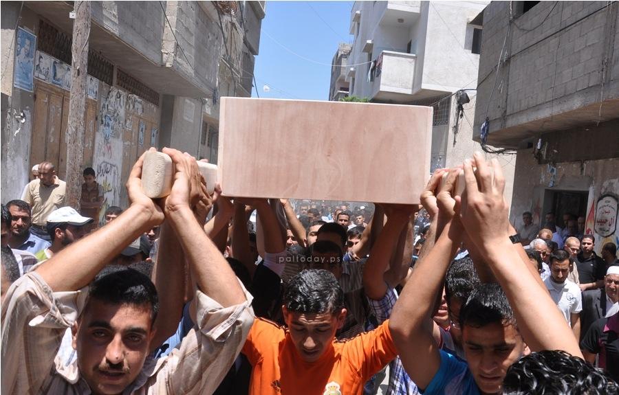 جنازة الشهيد محمد حبيب
