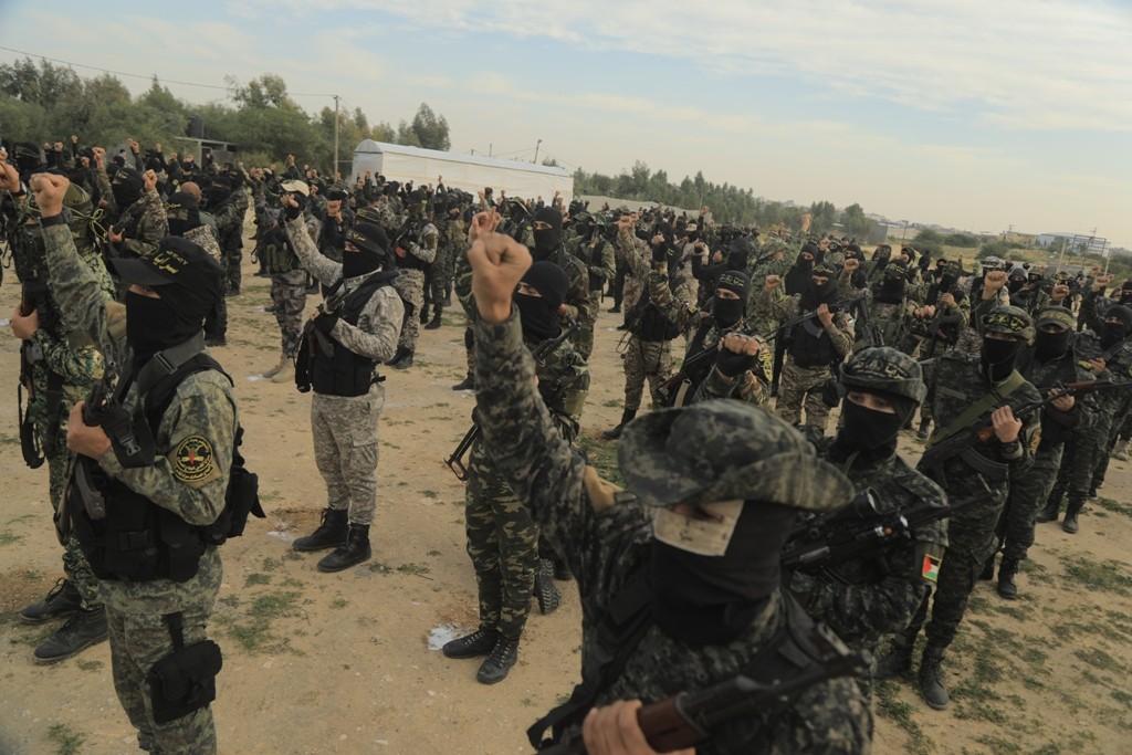 تخرج فوج مجد في قطاع غزة (7).jpg
