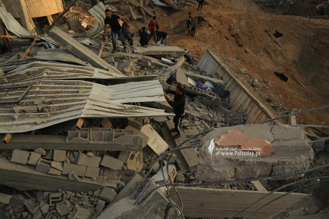 منازل المدمرة إثر القصف (22).JPG