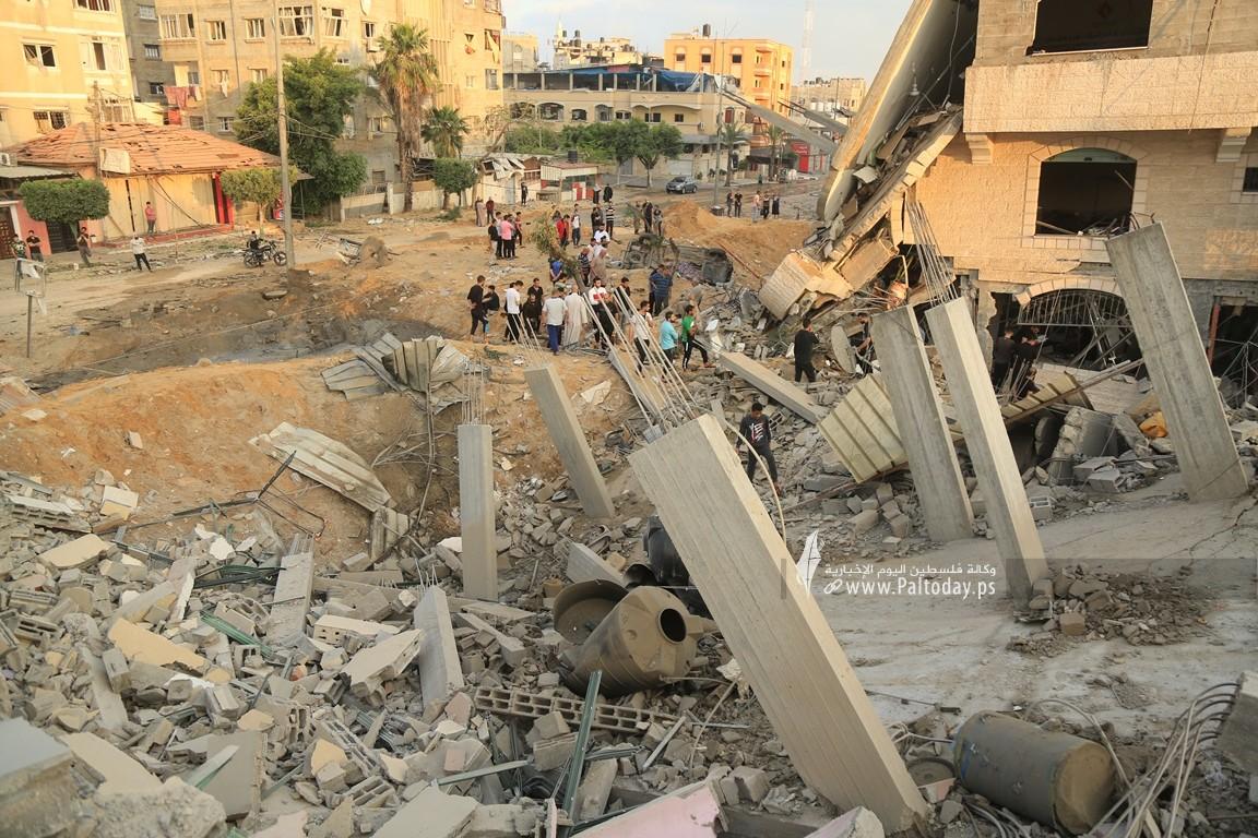 منازل المدمرة إثر القصف (18).JPG