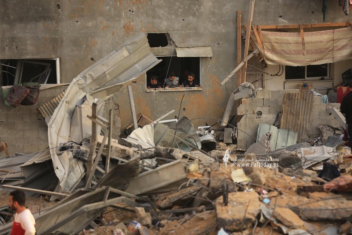 منازل المدمرة إثر القصف (24).JPG